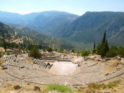 Ancient Theatre, Delphi, Greece – Visiting the Greek Centre of the World