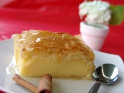 Galaktoboureko – Greek Milk Pie with Phyllo Dough