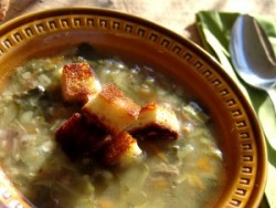 Meat Soup with Vegetables – Cooking In Plain Greek