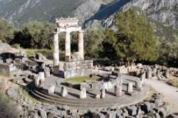 Delfi, Temple of Apollo