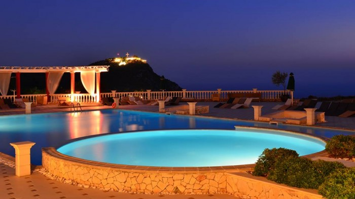 Zakynthos at night.